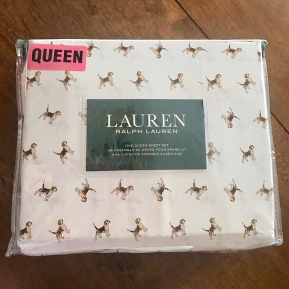 ralph lauren dog sheets